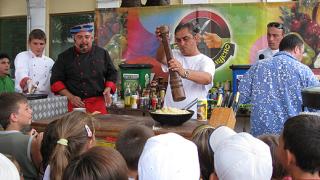 """Ути, Цонко и """"комиците"""" готвиха на живо за жителите и гостите на Каварна"""