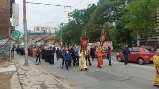 Мощи на Св. Дионисий посрещат в Гоце Делчев