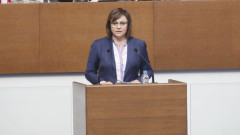 Нинова предупреди: Борисов взе 30 млрд. лв заем за 10 години на власт