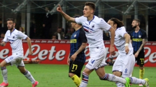 Сампдория уби мечтата на Интер за Шампионска лига