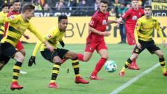 Борусия (Дортмунд) и Фрайбург завършиха наравно 2:2