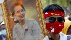 Военните в Мианмар обвиниха Аун Сан Су Чжи в държавна измяна
