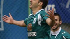 Дани Пеев с гол за Спартак срещу Мъри