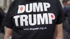 С протести посрещат Тръмп в Портсмут за 75 г. от Десанта в Нормандия