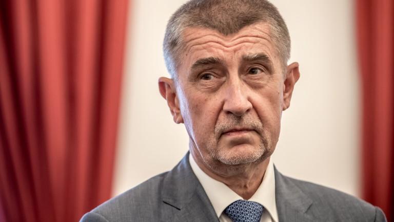 Чехите наказаха Бабиш и изхвърлиха комунистите от парламента за пръв път от 1948 г.