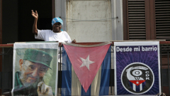 Племенникът на Фидел Кастро на посещение в Атина