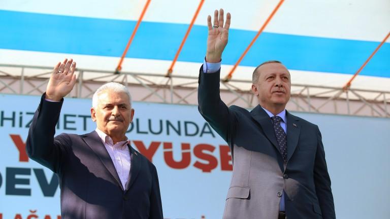 Последният премиер на Турция Йълдъръм е избран за председател на парламента