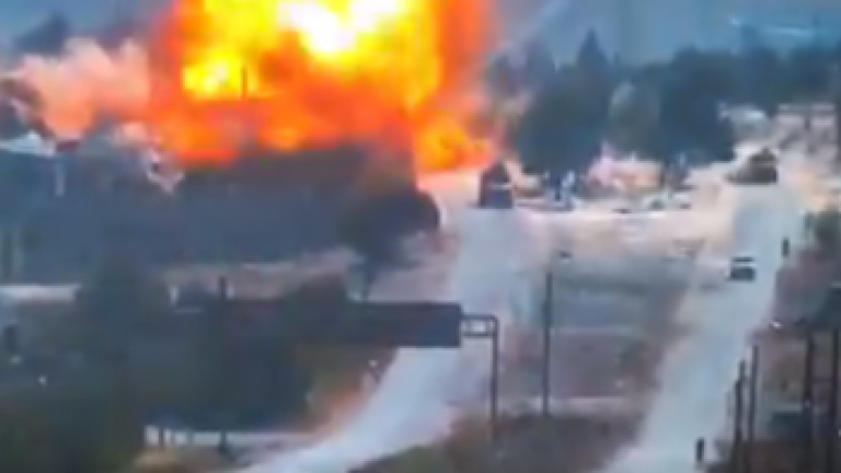 Русия отмъсти за нападението срещунеин патрул. Това съобщи в.