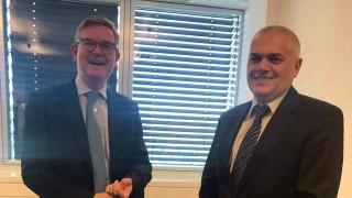 Европредседателството и сътрудничеството обсъдиха вътрешният министър и комисарят по сигурността