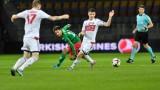 Беларус - България 2:1 (Развой на срещата по минути)
