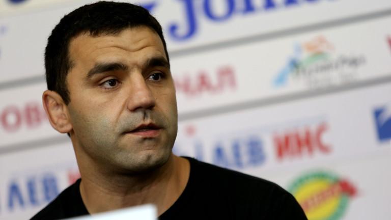 Старши треньорът на националния отбор по борба за жени Петър