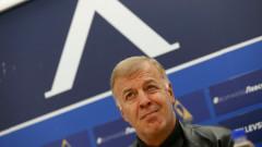 Наско Сираков на спешна среща с фенове на Левски