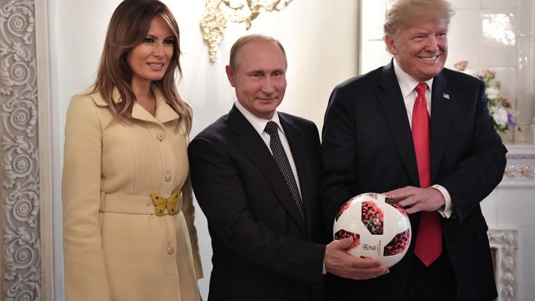Президентът на САЩ Доналд Тръмп да провери подаръка от руския