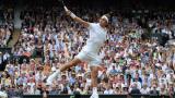 Това ли е удар номер 1 в тениса за годината? (ВИДЕО)