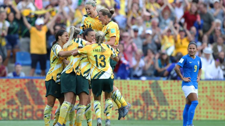 Австралия обърна Бразилия в най-зрелищния мач на дамския Мондиал