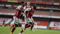 Арсенал се настани в Топ 4 на Висшата лига