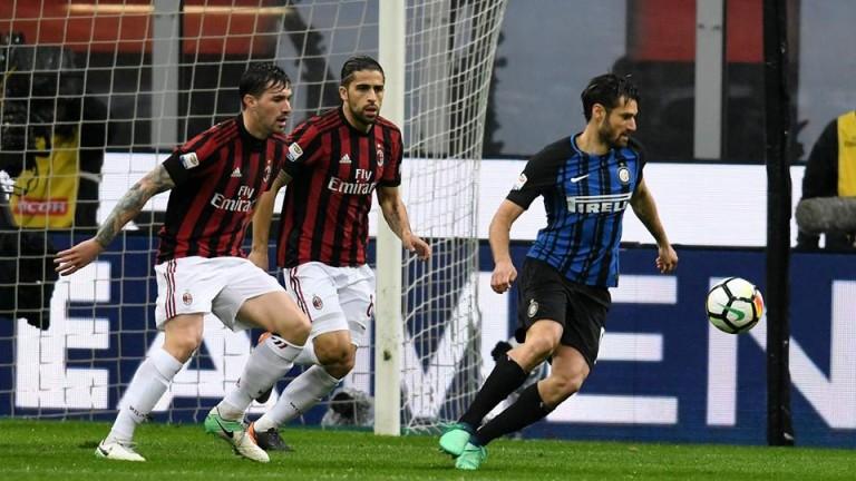 Милан измъкна точка от Интер, Икарди с фрапантни пропуски!