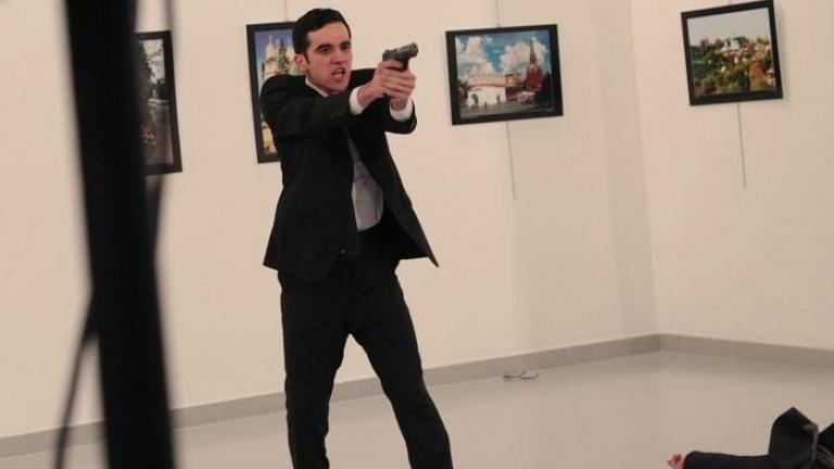 Снимка от убийството на руския посланик в Турция победи на конкурса World Press Photo