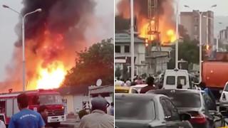 Мощен взрив е станал в Душанбе