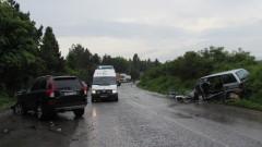 Временно е ограничено движението по пътя Видин-Монтана