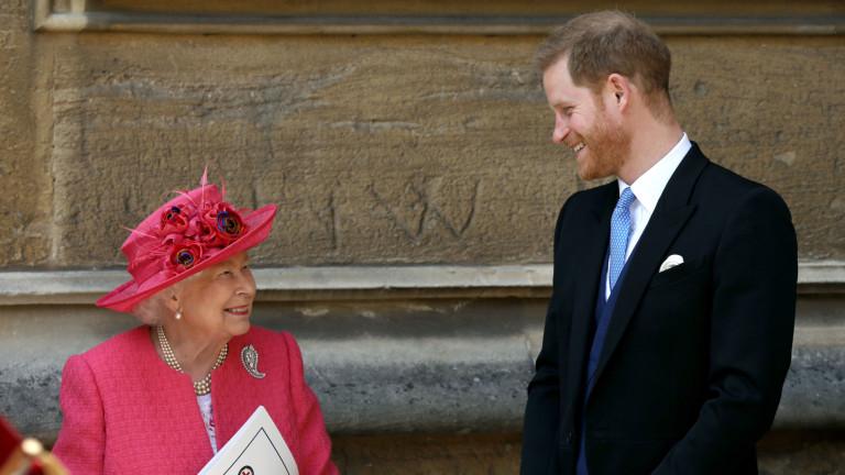 Какво каза кралицата на Хари след Мегзит