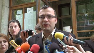 Мартин Димитров гласува електронно