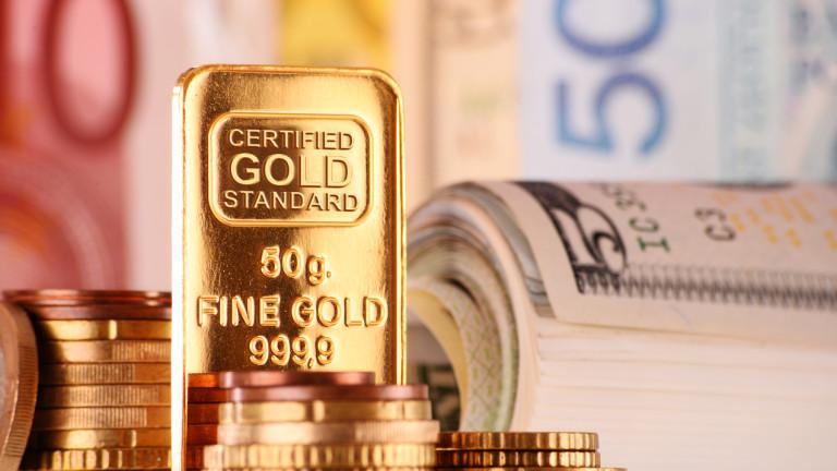 Цената на златото се покачва в търсене на по-безопасни активи