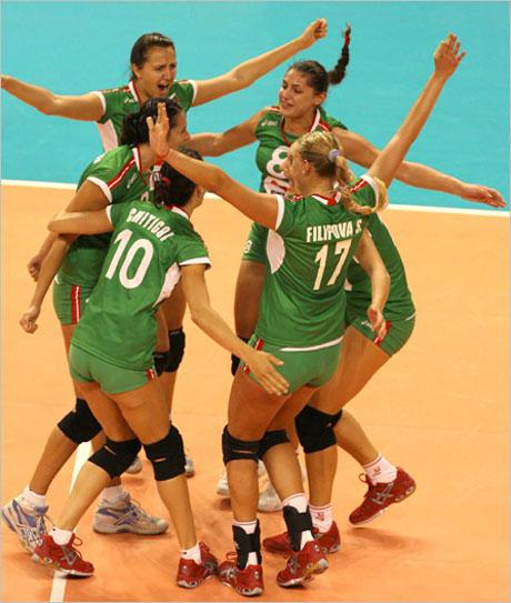 България попиля олимпийския шампион Бразилия за Гран При