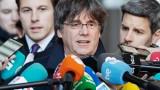 Съдът на ЕС временно върна имунитета на Пучдемон и още двама каталунски лидери