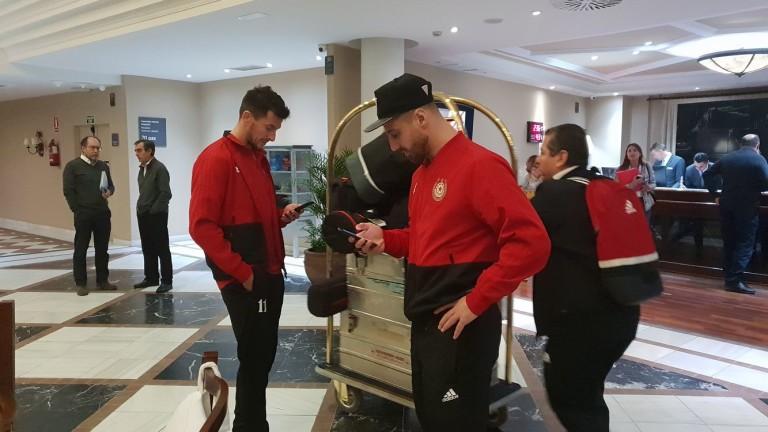 ЦСКА пристигна в Марбея, където ще протече подготвителният лагер на