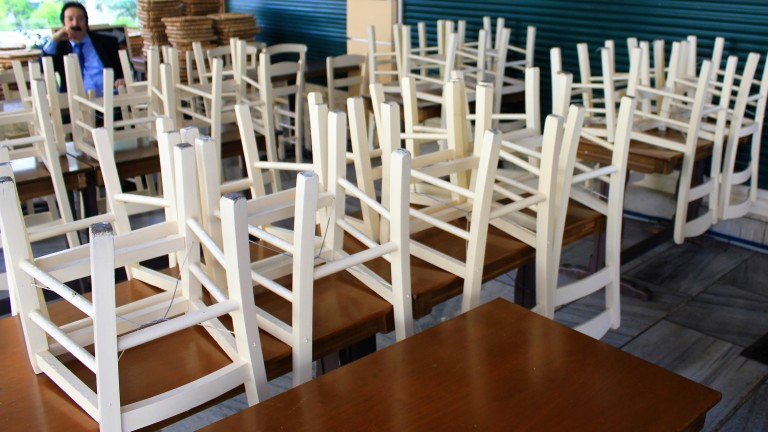 25% от ресторантите в Гърция няма да отворят изобщо