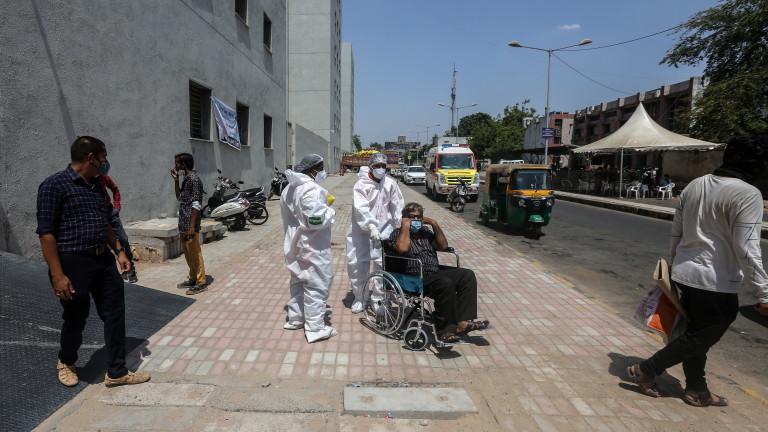 По-инфекциозният щам на коронавируса, предизвиквал катастрофа в Индия, е открит