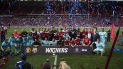 При завръщането на легендите: Манчестър Юнайтед и Барселона не се победиха
