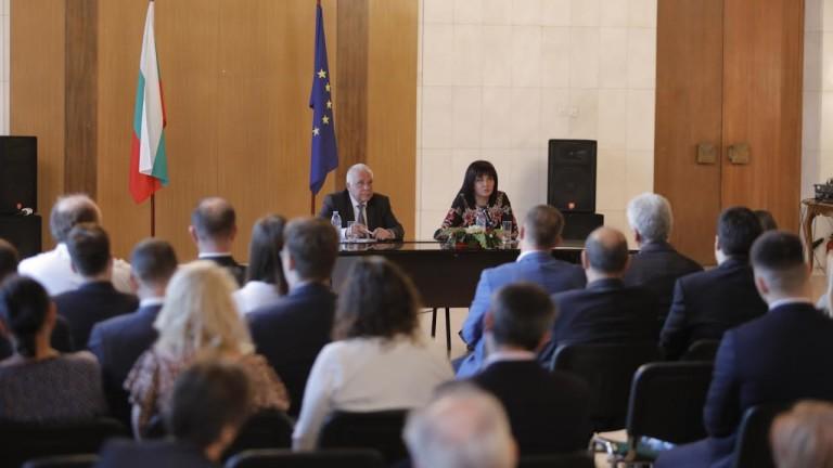 Цвета Караянчева призова българските студенти в Москва да дойдат у нас