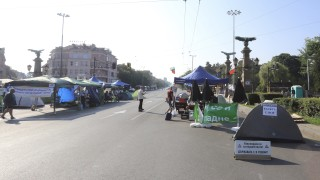 Три кръстовища в София остават блокирани в ден 26 на протести