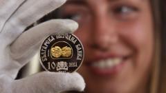 БНБ пусна възпоменателна монета на хан Тервел