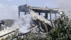Башар Асад показа пораженията в Барза