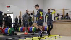 Двуразови тренировки в Лудогорец до контролата с ЧФР Клуж