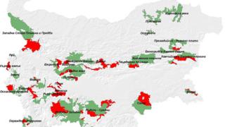 27 от 29-те зони приети в Натура 2000