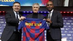 Кике Сетиен е доволен от първата си седмица в Барселона