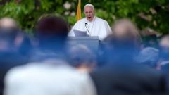 Папа Франциск: България винаги е била мирен мост между Изтока и Запада