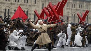 Москва отбелязва с марш военния парад от 1941 г.