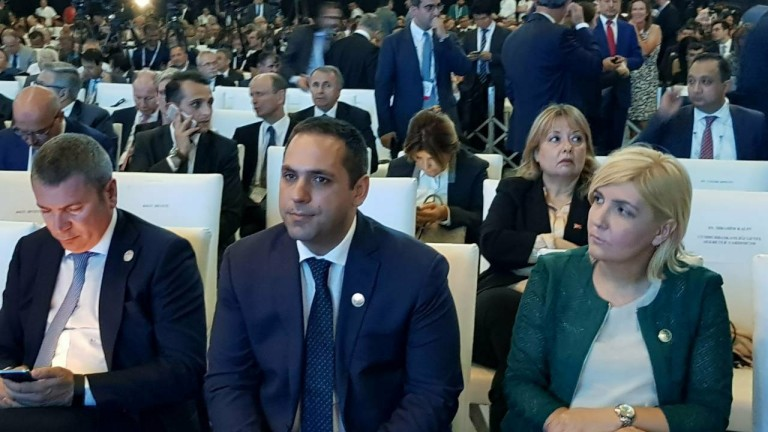 Министърът на икономиката Емил Караниколов беше официален гост на церемонията