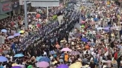 Хиляди китайци протестираха в град Лубу срещу завод за боклук