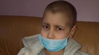 Фенове на ЦСКА организират благотворителен търг за 10-годишно момче с рак