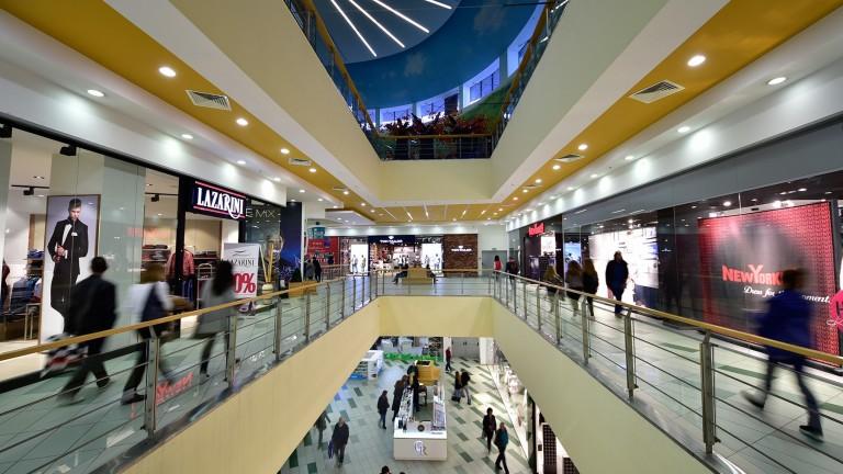Новооткритите търговски центрове в Европа достигнаха най-ниското си ниво за