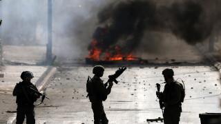 15 ранени палестинци при сблъсъци с израелската армия