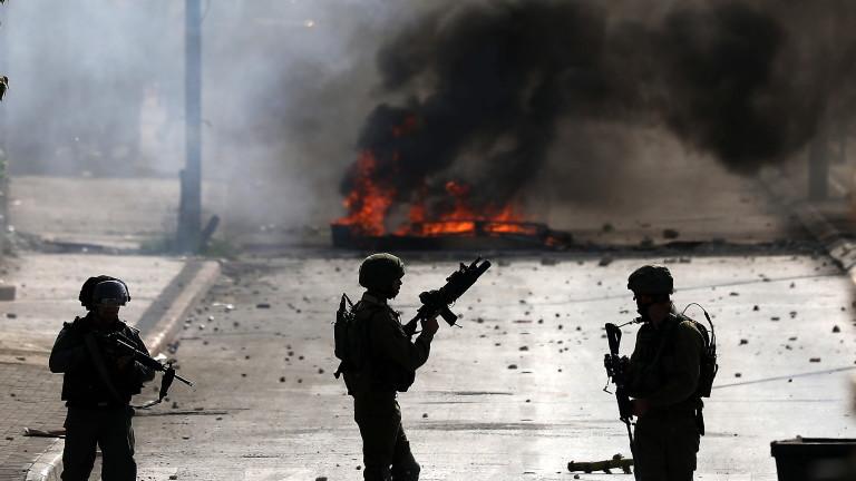 ВВС на Израел атакува обектите на радикалната палестинска група Ислямски