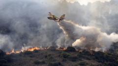 Пожар избухна на изток от Рим, местни жители са евакуирани