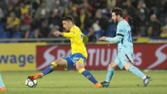 Лас Палмас и Барселона завършиха наравно 1:1